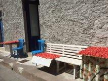Mercado callejero italiano Fotografía de archivo libre de regalías