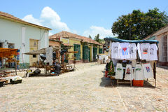 Mercado callejero Trinidad Cuba Imagen de archivo libre de regalías