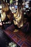 Mercado cambojano Phnom Penh, Cambodia Imagens de Stock Royalty Free