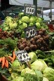Mercado central Fotografia de Stock Royalty Free