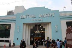 Mercado central Foto de archivo