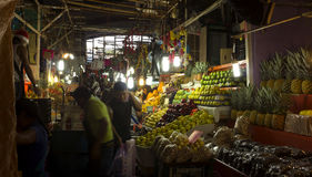 Mercado central de Cuernavaca Fotografía de archivo libre de regalías