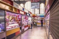 Mercado central de la ciudad de Málaga, España Fotos de archivo libres de regalías