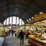 Mercado central de la comida Imagenes de archivo