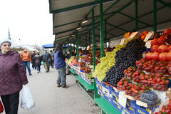 Mercado central de Riga imagem de stock royalty free