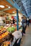 Mercado central em Tampere Finlandia Fotografia de Stock Royalty Free