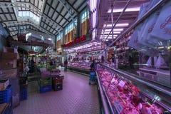 Mercado central em Valência Fotos de Stock Royalty Free