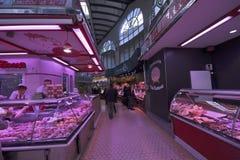 Mercado central em Valência Foto de Stock Royalty Free