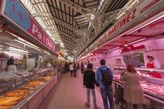 Mercado central em Valência Foto de Stock