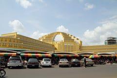 Mercado central en Phnom Penh imágenes de archivo libres de regalías