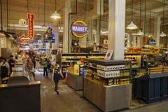 Mercado central grande Fotografia de Stock