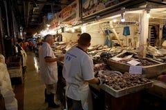 Mercado central i Santiago de Chile, Chile Royaltyfria Foton