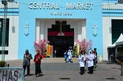 Mercado central, Kuala Lumpur Fotos de archivo libres de regalías