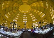 Mercado central Phnom Penh Imagem de Stock