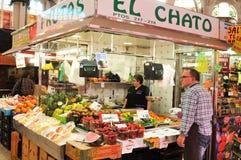 Mercado Central in Valencia, Spain Stock Photography