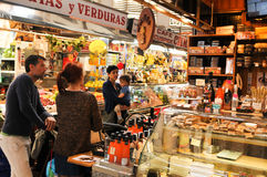 Mercado Central in Valencia, Spain Royalty Free Stock Images