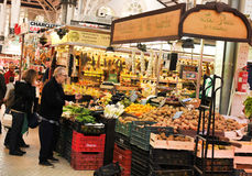 Mercado Central in Valencia, Spain Royalty Free Stock Photography