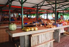 Mercado coberto em Mostar Fotografia de Stock Royalty Free