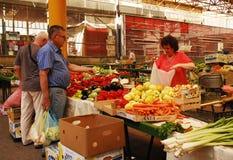 Mercado coberto em Sarajevo Imagens de Stock Royalty Free