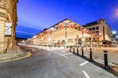 Mercado coberto Preston Lancashire foto de stock royalty free