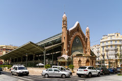 Mercado Colon In Valencia Stock Image