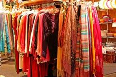 Mercado colorido foto de archivo