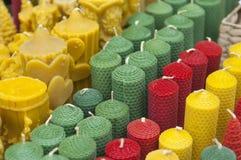 Mercado colorido de la Navidad en Budapest Fotografía de archivo libre de regalías