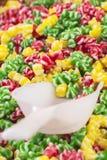 Mercado colorido de los candys Fotografía de archivo libre de regalías