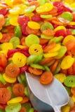 Mercado colorido de los candys Imagen de archivo