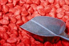 Mercado colorido de los candys Imagen de archivo libre de regalías