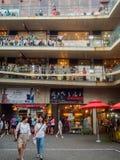 Mercado coreano de productos culturales Foto de archivo libre de regalías