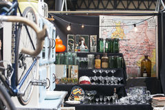 Mercado da antiguidade de Spitalfields Imagem de Stock
