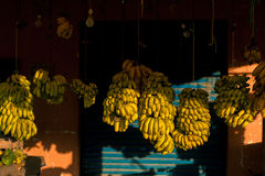 Mercado da banana de Maroccan Imagens de Stock Royalty Free