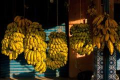 Mercado da banana de Maroccan Imagens de Stock