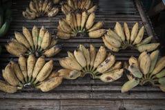 Mercado da banana não bonito Imagens de Stock