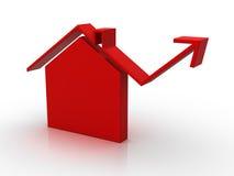 Mercado da casa (isolado) Imagens de Stock