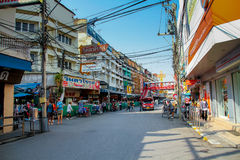 Mercado da cidade Fotos de Stock