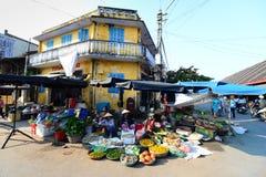 Mercado da cidade antiga de Hoian Imagens de Stock Royalty Free