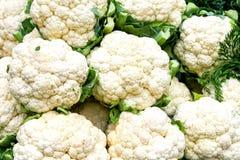 Mercado da couve-flor Fotografia de Stock Royalty Free