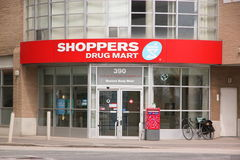 Mercado da droga dos clientes Imagem de Stock