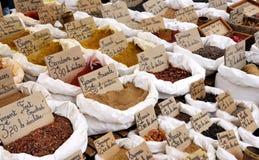 Mercado da especiaria Fotografia de Stock Royalty Free