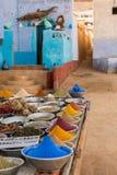 Mercado da especiaria de Médio Oriente Fotos de Stock
