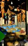 Mercado da especiaria em Marrocos Fotos de Stock Royalty Free