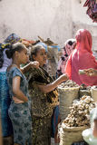Mercado da especiaria, Etiópia Fotografia de Stock