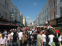 Mercado da estrada de Portobello Fotografia de Stock Royalty Free