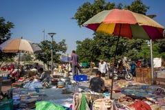 Mercado da feira da ladra/beira-rio Fotografia de Stock