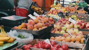 Mercado da fruta e verdura filme