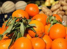 Mercado da fruta e verdura Fotografia de Stock Royalty Free