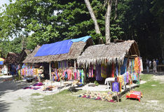 Mercado da ilha. Fotografia de Stock