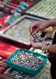 Mercado da jóia Fotos de Stock